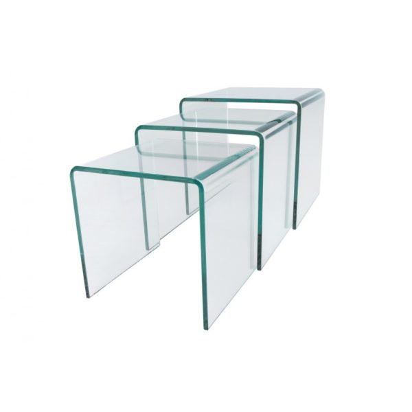 Nested glass tables