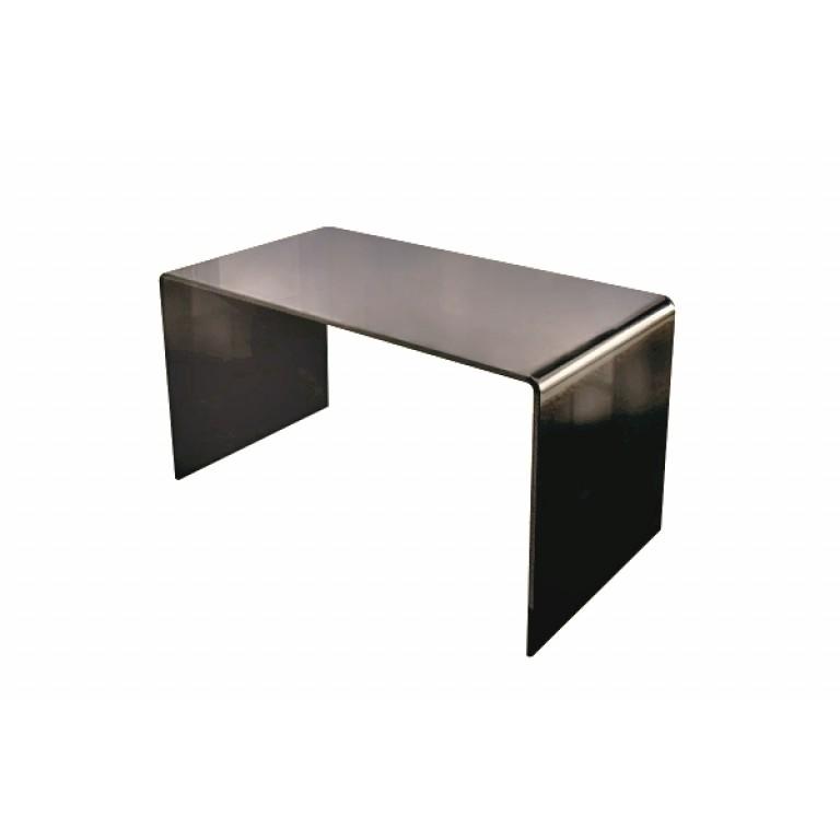 Long Smoked Glass Coffee Table Modern Stylish Retro Contemporary Glass Tables By Glass Tables Online