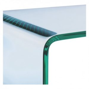 Glass Console Table Compact